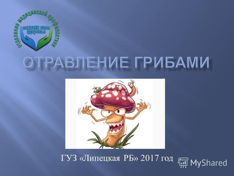 ГУЗ « Липецкая РБ » 2017 год