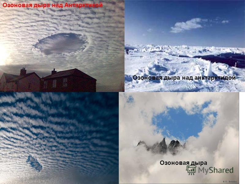 Озоновая дыра над Антарктикой Озоновая дыра Озоновая дыра над антарктидой