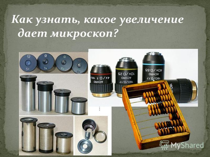 Как узнать, какое увеличение дает микроскоп?
