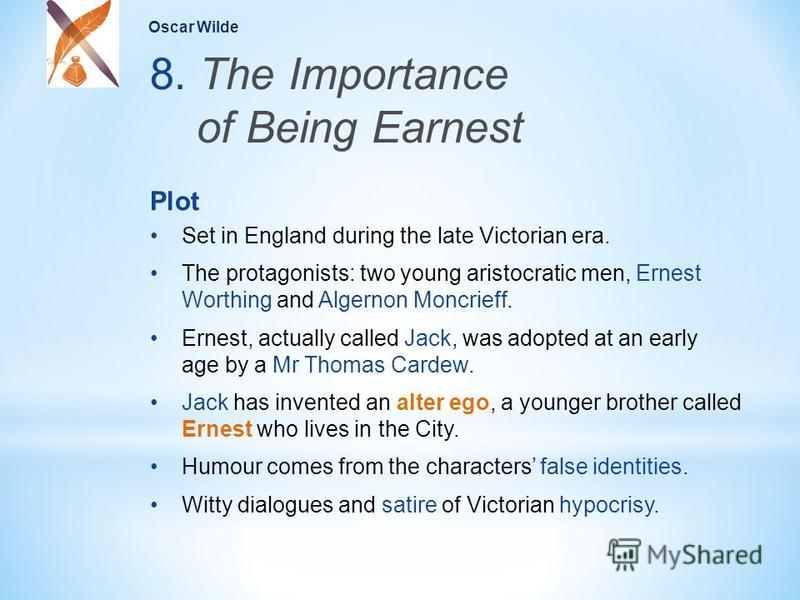 a literary analysis of the importance of being earnest set in late victorian england Litcharts assigns a color and icon to each theme in the importance of being earnest, which you can use to track the themes throughout the work campodonico, christina the importance of being earnest themes litcharts litcharts llc, 14 apr 2014 web 10 oct 2018 campodonico, christina the.