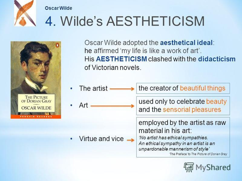 oscar wilde and the aestheticism movement essay