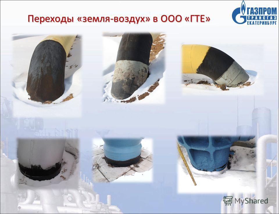 Переходы «земля-воздух» в ООО «ГТЕ»