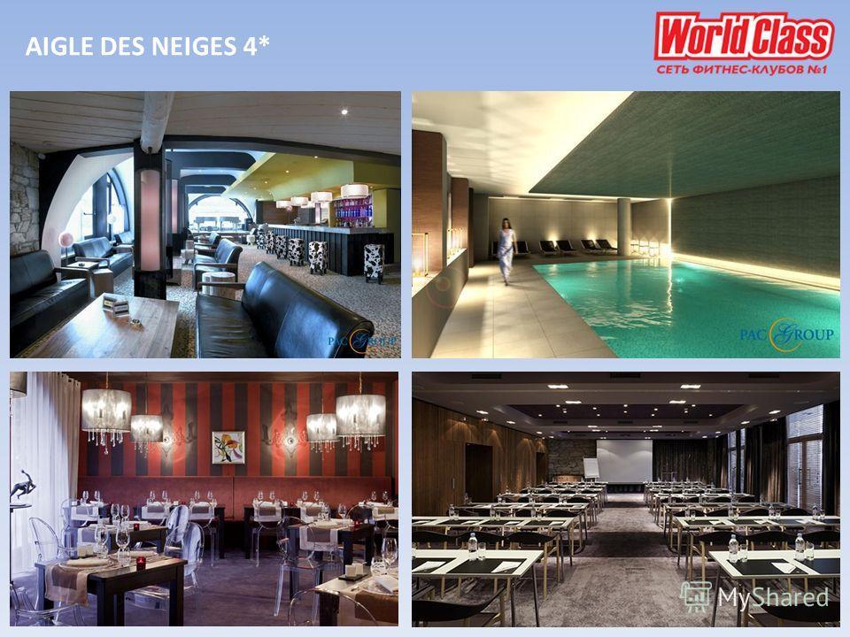 AIGLE DES NEIGES 4*