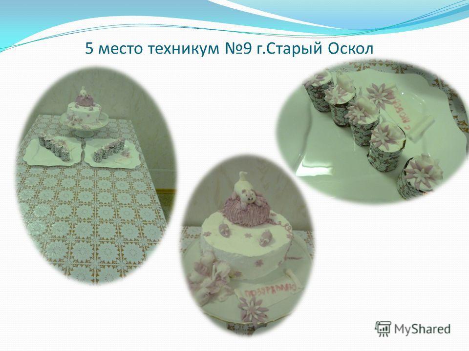 5 место техникум 9 г.Старый Оскол