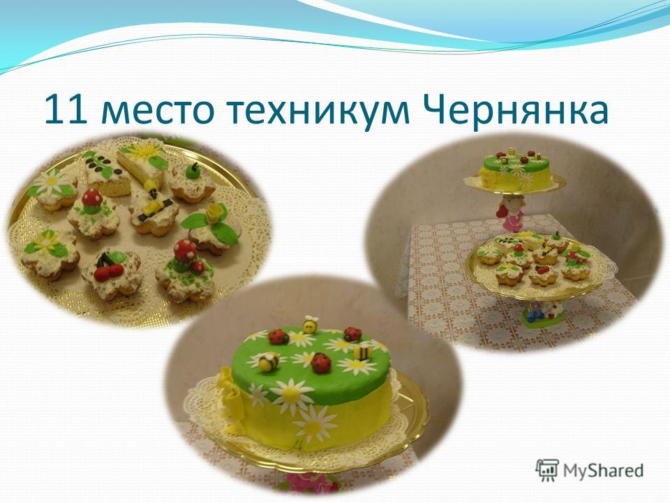 11 место техникум Чернянка