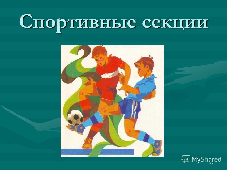 Спортивные секции 22