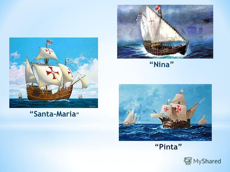 Santa-Maria Nina Pinta