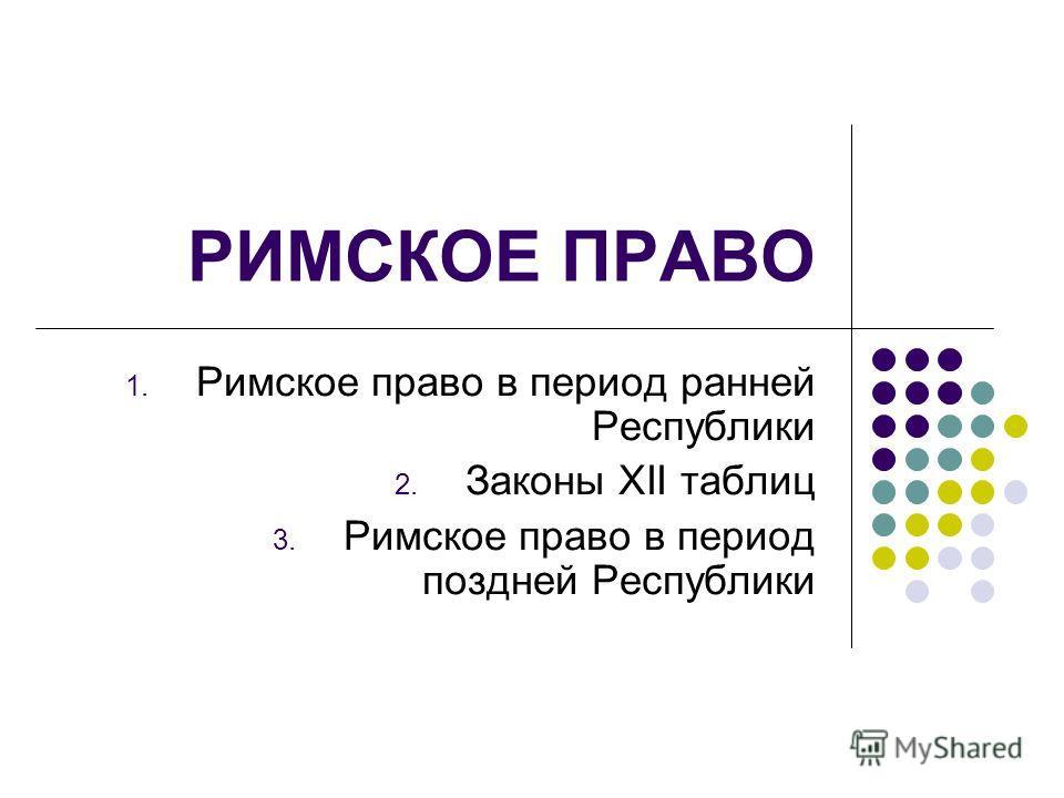 возможно, законы 12 таблиц семейное право линия горизонта