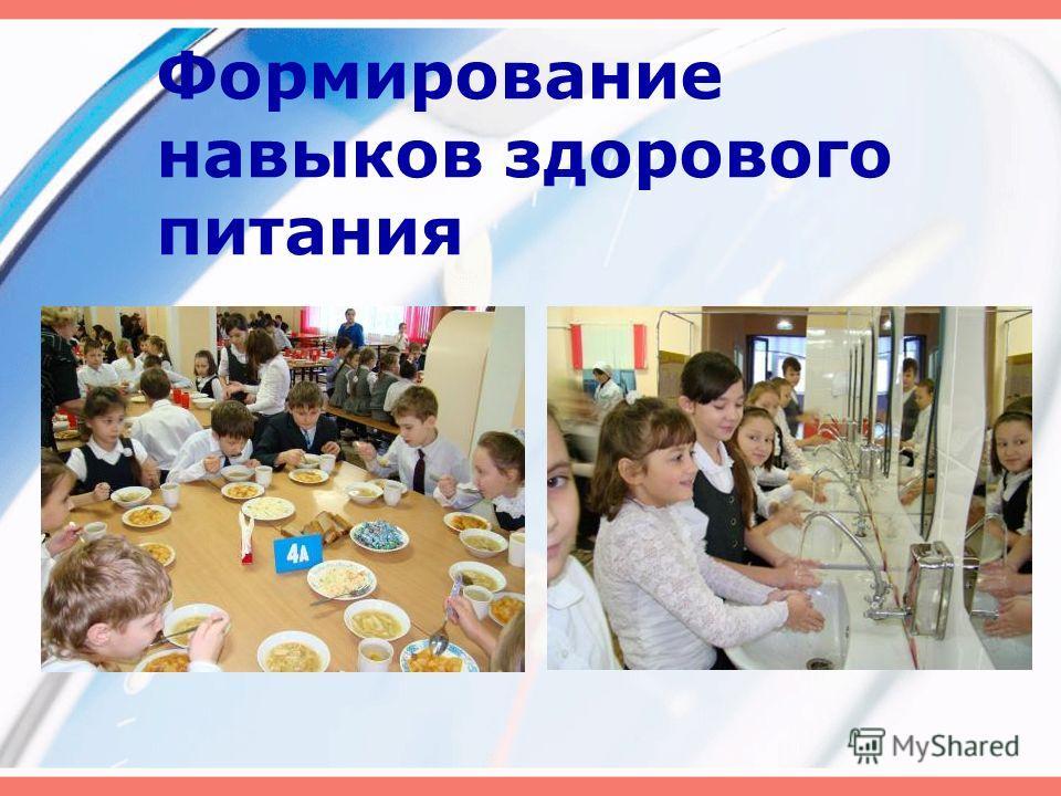 Формирование навыков здорового питания
