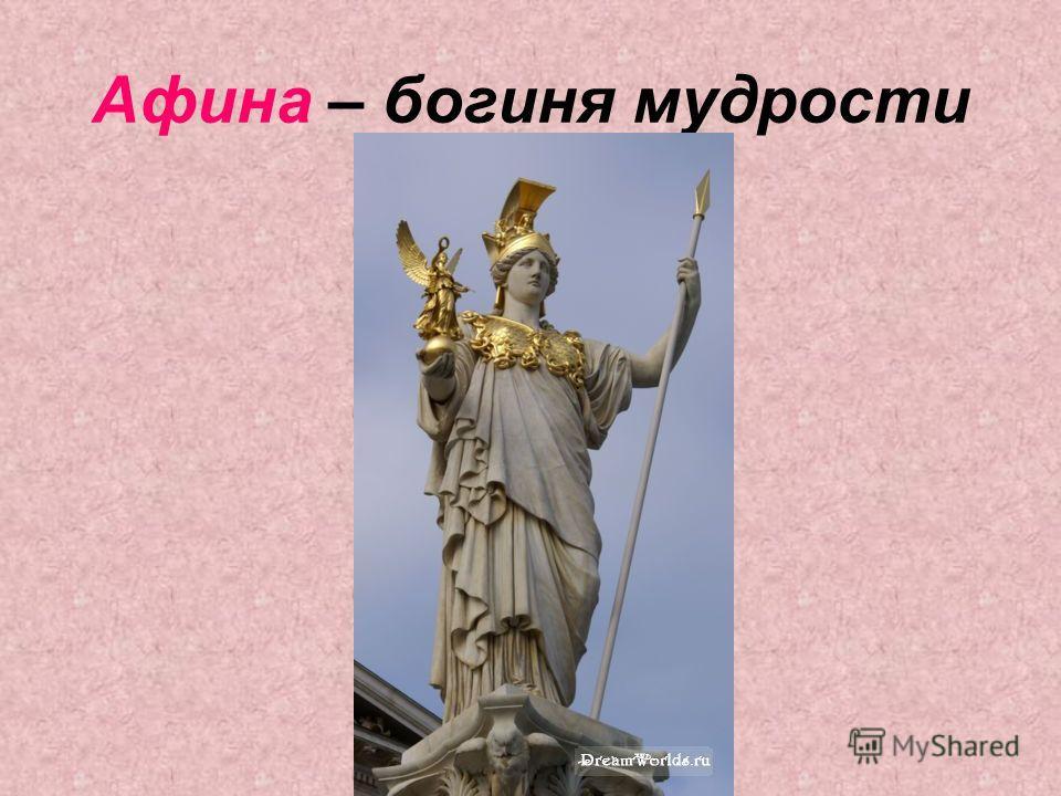 Афина – богиня мудрости