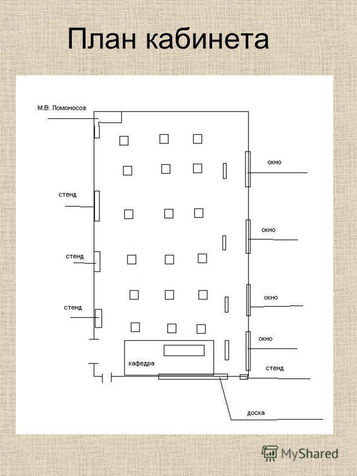 План кабинета