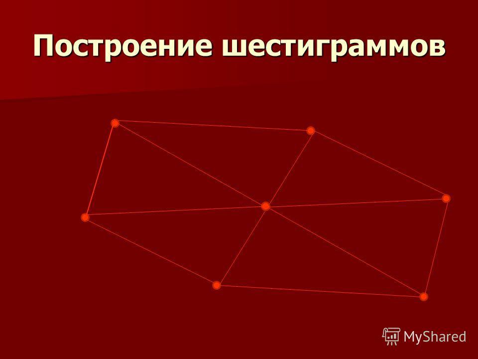 Построение шестиграммов