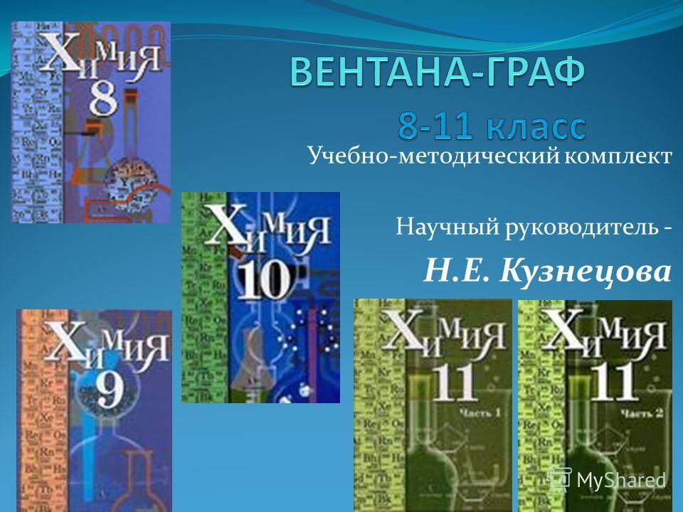 Учебно-методический комплект Научный руководитель - Н.Е. Кузнецова