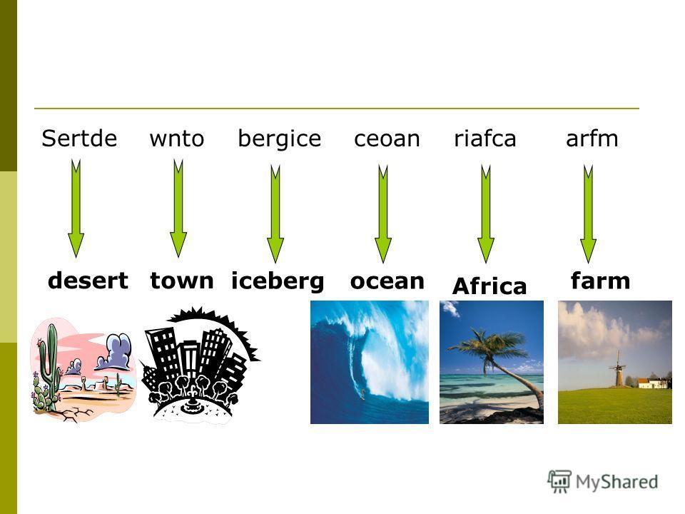 Sertde wnto bergice ceoan riafca arfm deserttown iceberg ocean Africa farm