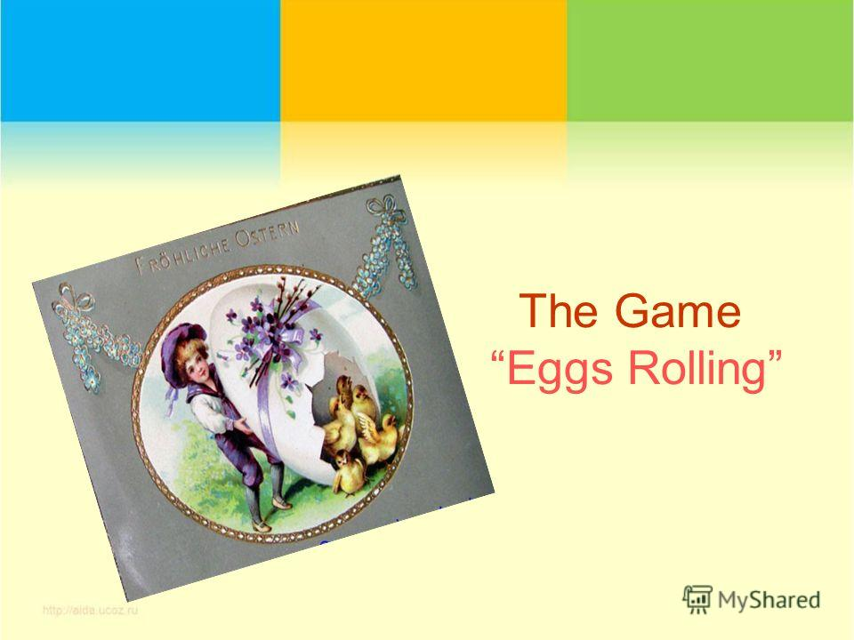 The Game Eggs Rolling