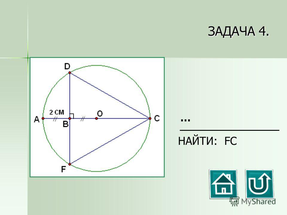 ЗАДАЧА 4. НАЙТИ: FC …