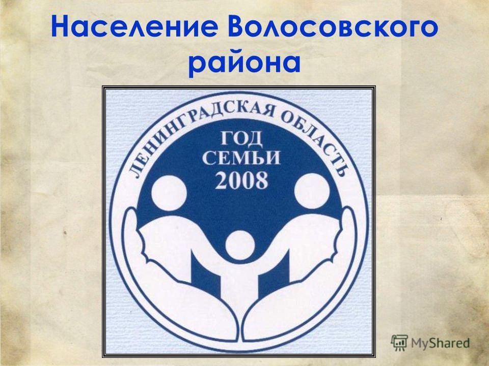 Население Волосовского района