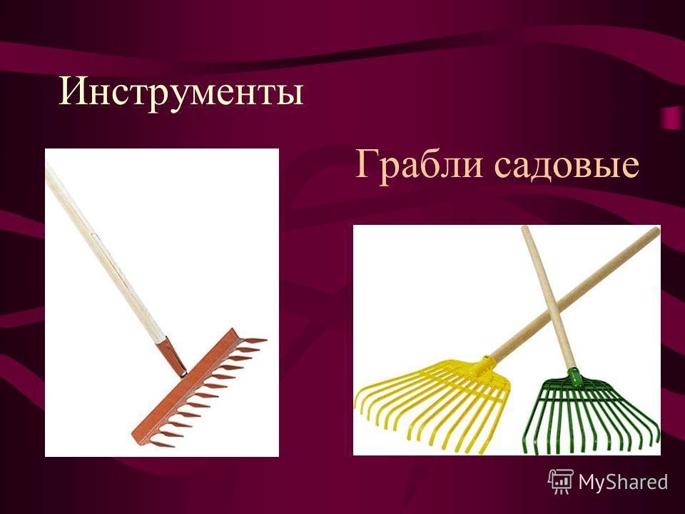 Инструменты Грабли садовые