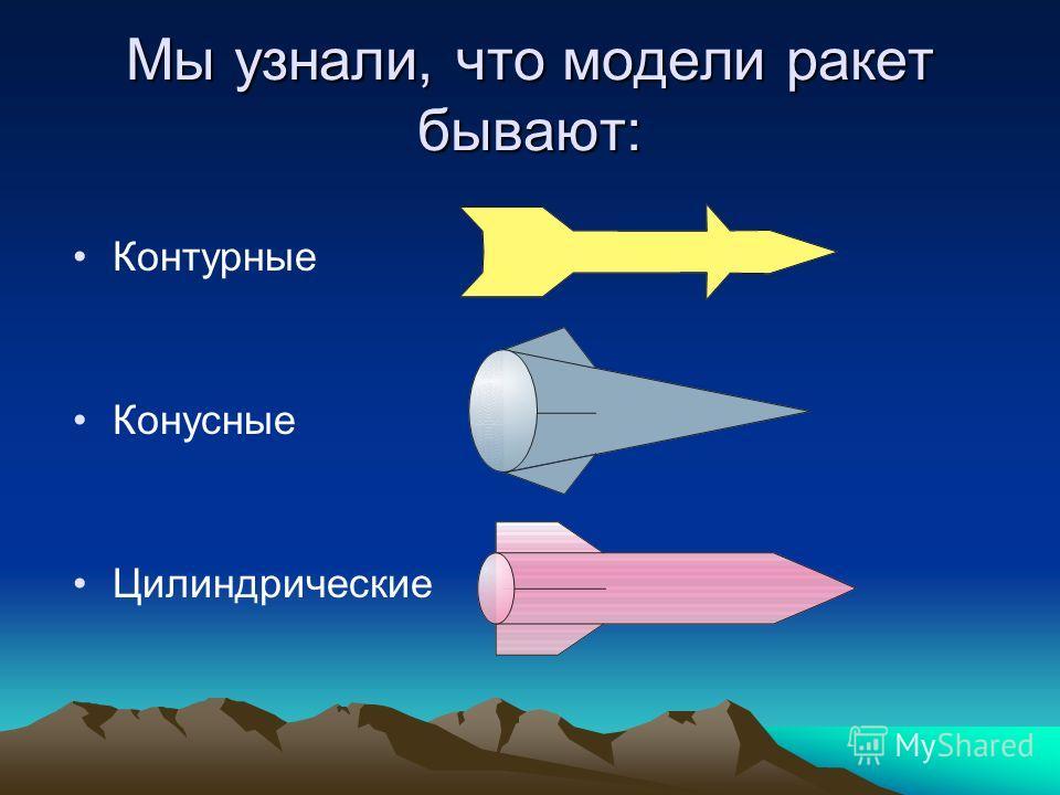 Мы хотим сделать летающую игрушку, чтобы с ней можно было не только играть, но и участвовать в соревнованиях и побеждать! * Мы решили сделать ракету! - рассматривали картинки в энциклопедиях, на компьютере, -смотрели видеофильмы, чертежи моделей раке