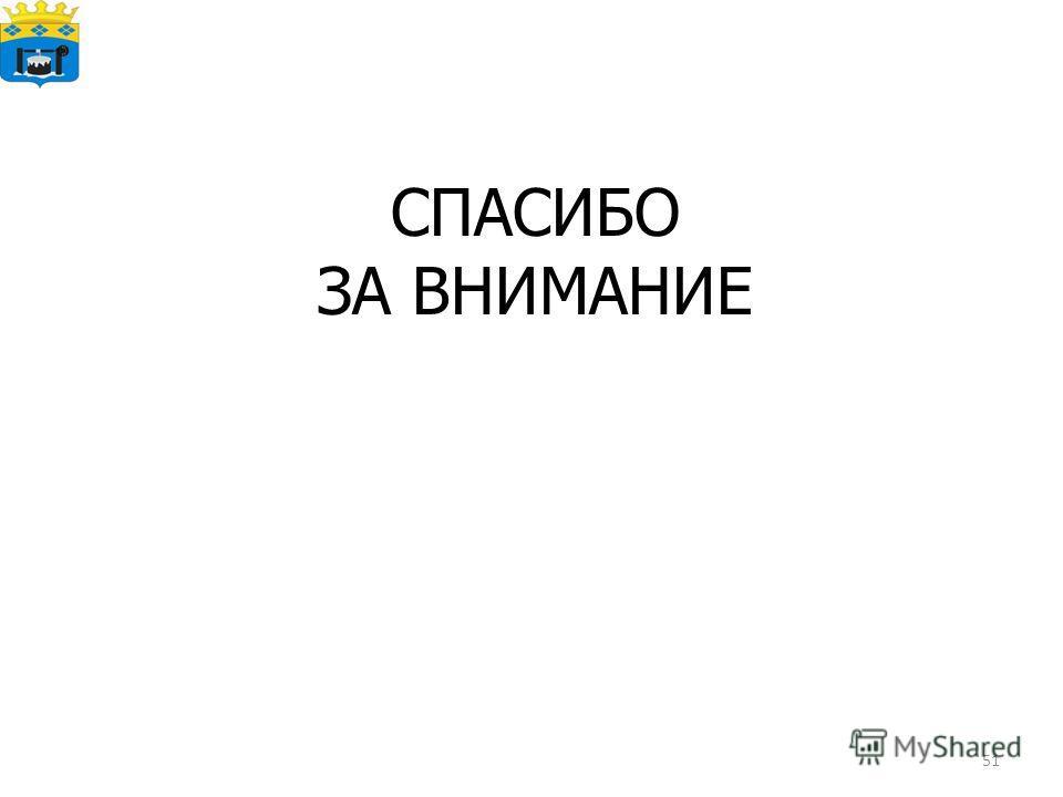 51 СПАСИБО ЗА ВНИМАНИЕ