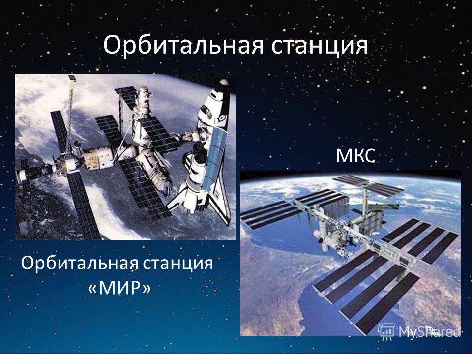 Орбитальная станция «МИР» МКС