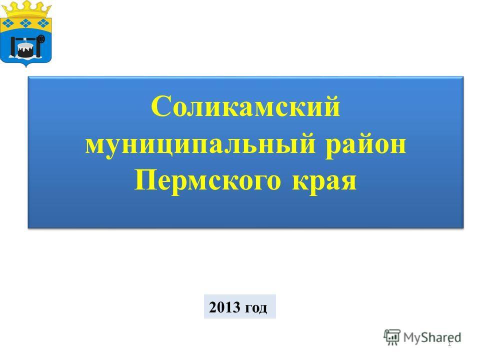 Соликамский муниципальный район Пермского края 2013 год 1