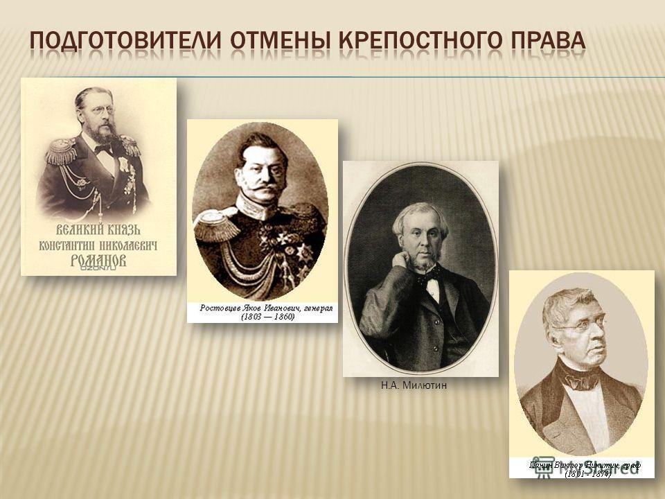 Н.А. Милютин