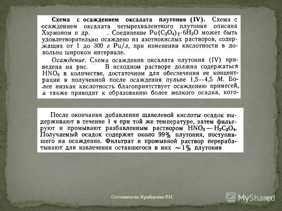 Составитель: Крайденко Р.И. 101