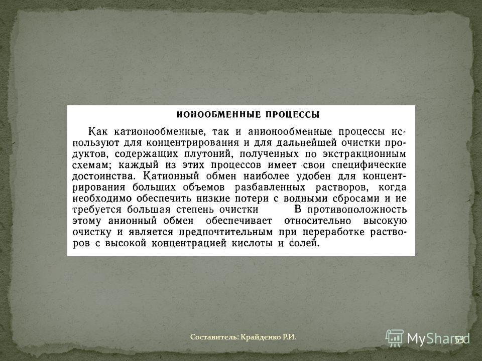 Составитель: Крайденко Р.И. 53