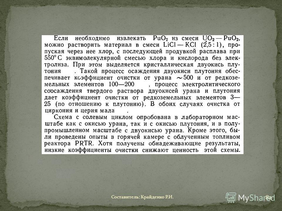 Составитель: Крайденко Р.И. 82