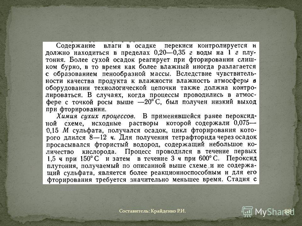 Составитель: Крайденко Р.И. 88