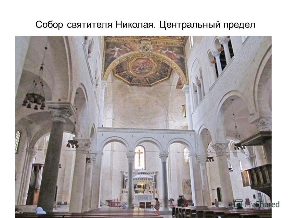 Собор святителя Николая. Центральный предел