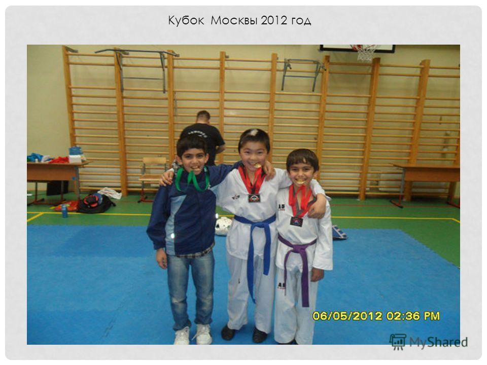 Кубок Москвы 2012 год