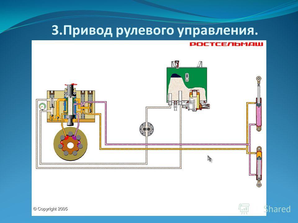 3.Привод рулевого управления.