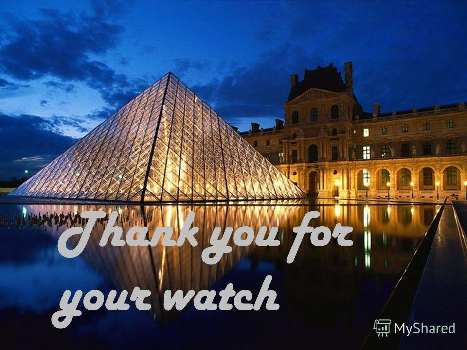 Thank you for your watch