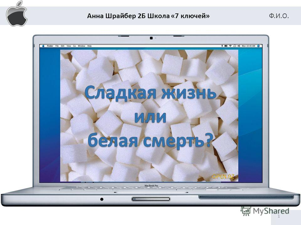 Анна Шрайбер 2Б Школа «7 ключей» Ф.И.О. 1