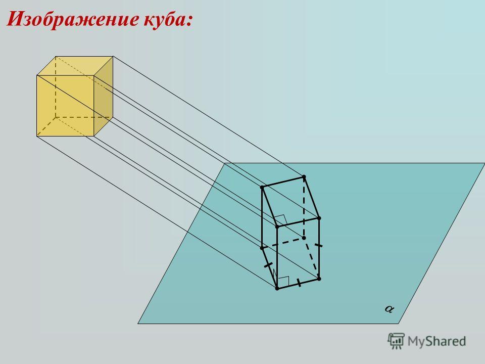 Изображение куба: