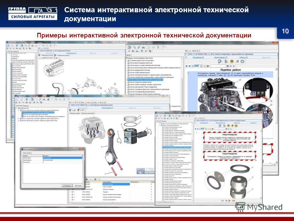 10 Система интерактивной электронной технической документации Примеры интерактивной электронной технической документации