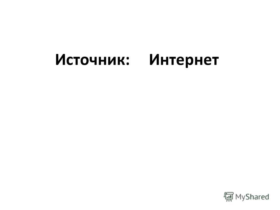 Источник: Интернет