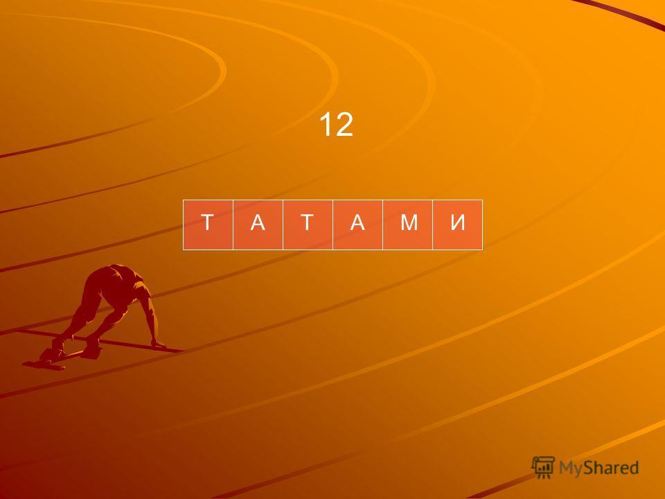 ТАТАМИ 12