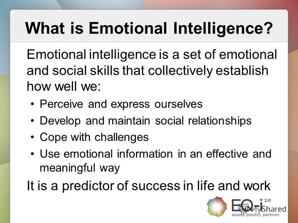 emotional intelligence and nursing essay This essay discusses how emotional intelligence can affect leadership, through the fundamental function of decision making process, and lead to.