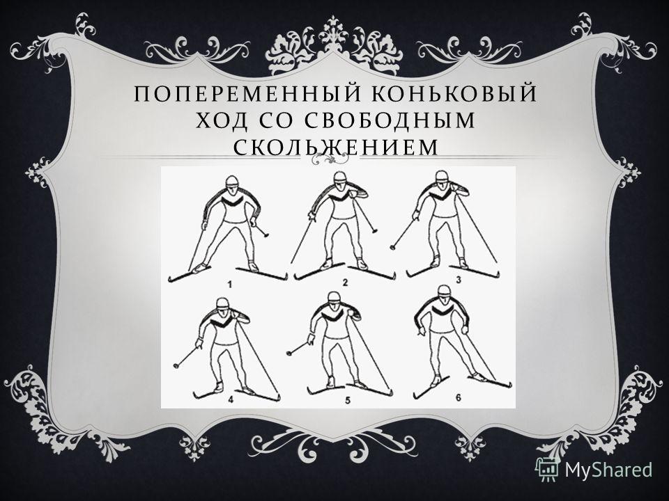 ПОПЕРЕМЕННЫЙ КОНЬКОВЫЙ ХОД СО СВОБОДНЫМ СКОЛЬЖЕНИЕМ