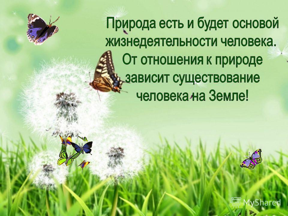 Обобщение Что давала человеку природа? Что-нибудь изменилось в природе сегодня? Будет ли нужна природа человеку в будущем?