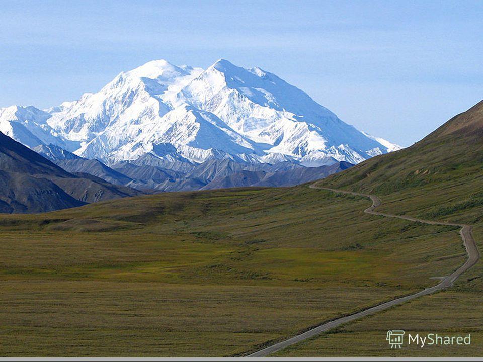 Наивысшая точка Северной Америки гора Мак-Кинли 6194 м. Самая низкая Долина Смерти 86 м ниже уровня моря.