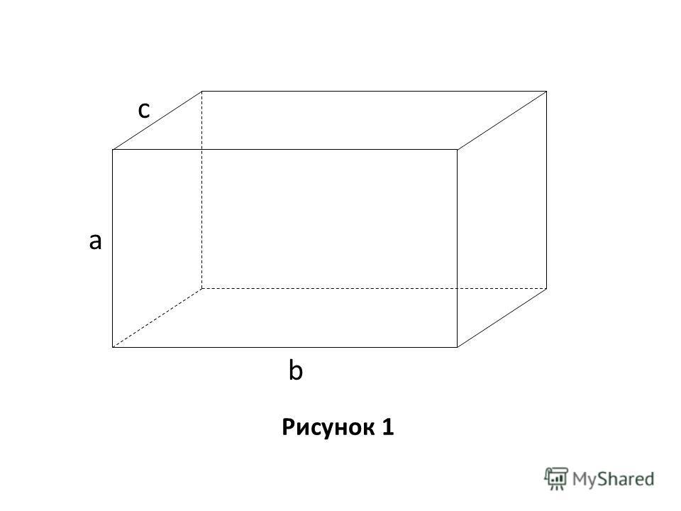 Рисунок 1 с a b