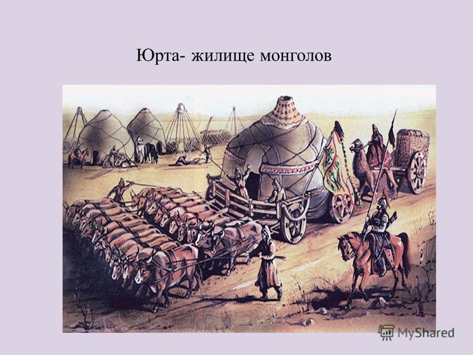 Юрта- жилище монголов