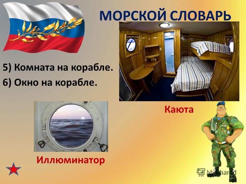 МОРСКОЙ СЛОВАРЬ 3) Корабельная кухня. Камбуз 4) Повар на корабле. Кок