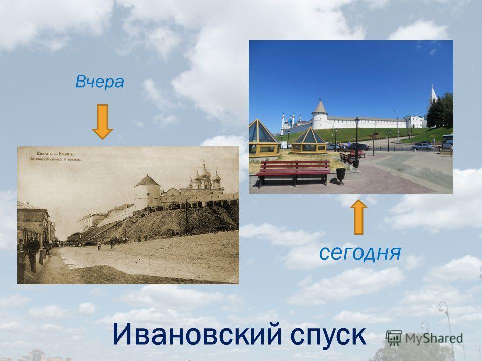 Казанский Кремль В прошлом В настоящем
