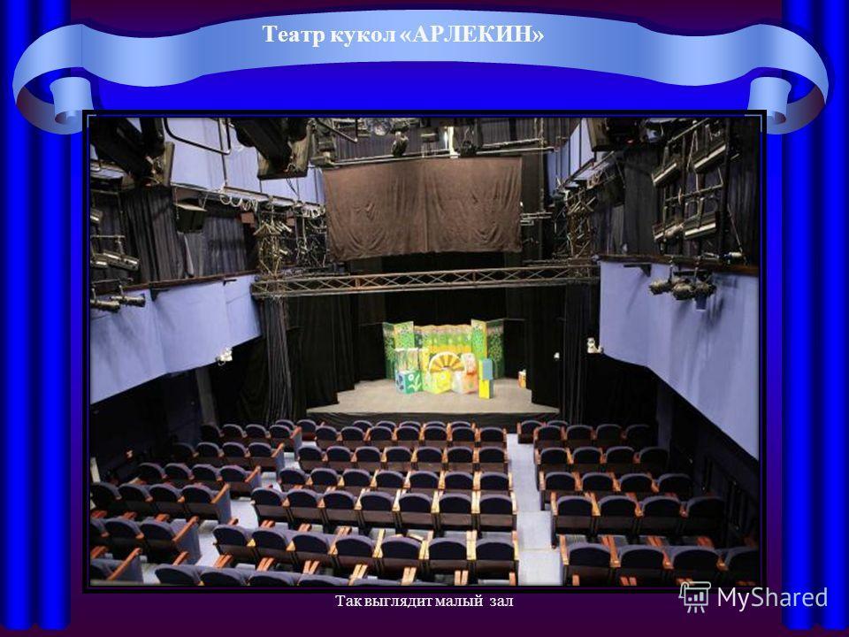 Театр кукол «АРЛЕКИН» Так выглядит малый зал