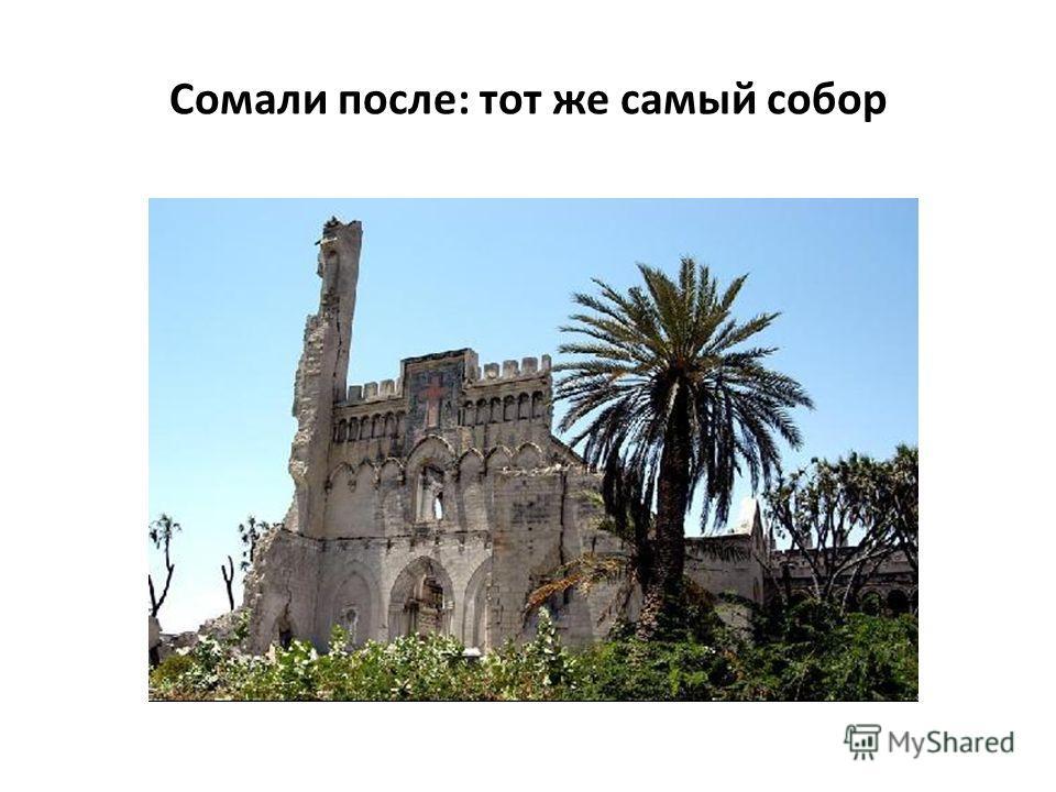 Сомали после: тот же самый собор
